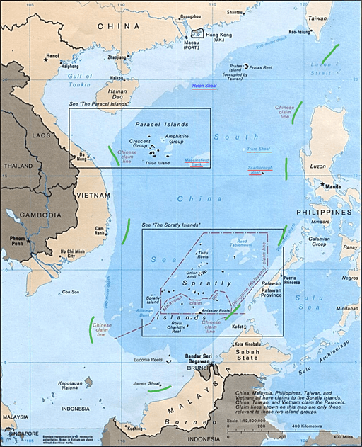 Analyzing the relations among China, ASEAN and the United States over the South China Sea