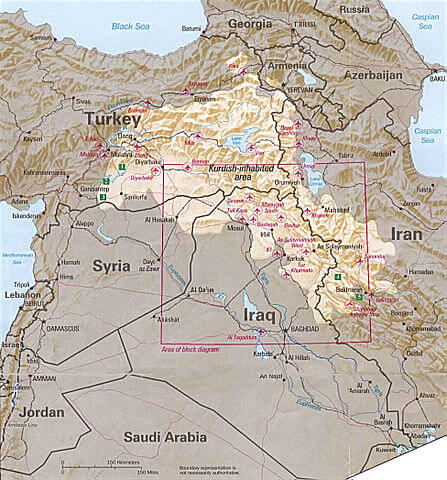 From the Kurdish people, Middle East and Western countries. What was the fight against the Islamic State?