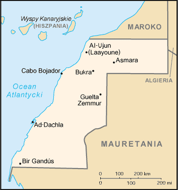 Why Western Sahara is not stable? I will follow behind the cracking state approval